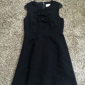 Kate Spade Size 8 Double Bow Tie Dress